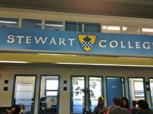 ビクトリアの語学学校スチュワートカレッジ ラウンジ